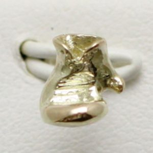 9ct Boxing Glove Earring Small