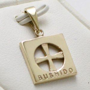 9ct Bushido Cross Thin