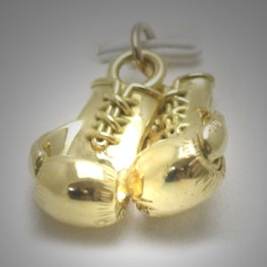 9ct Gold Boxing Glove Pair 2
