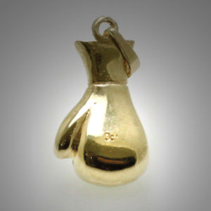 9ct Gold Single Boxing Glove Medium