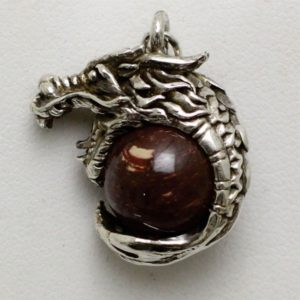 Sterling Silver Dragon
