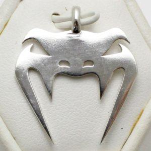 Sterling Silver Snake Head