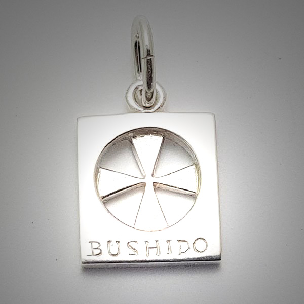 Bushido cross sterling silver large pendant jewellery bushido cross sterling silver large aloadofball Image collections
