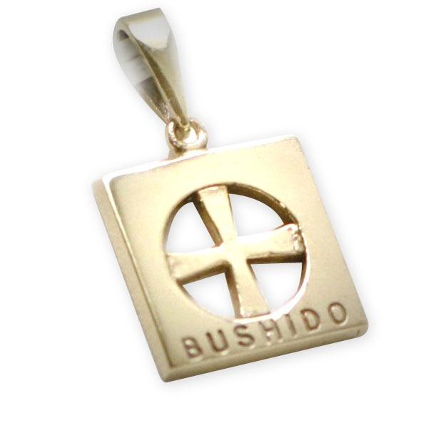 9ct Gold Bushido Cross Thin 1