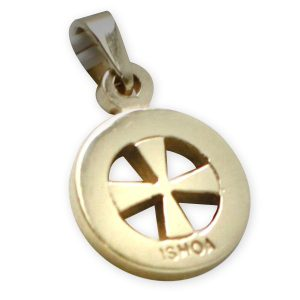 9ct Gold Ishoa Cross Thick