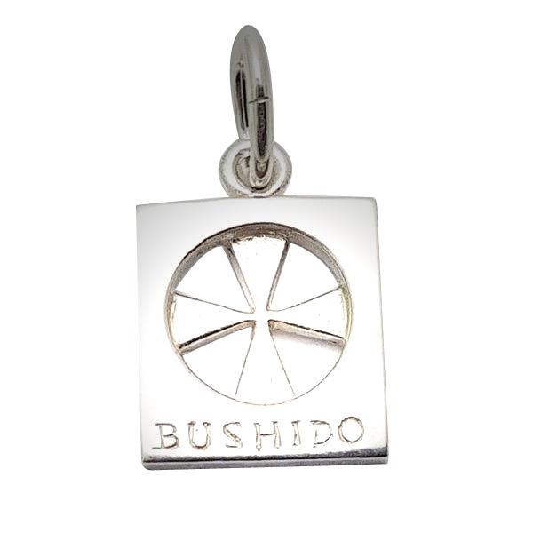 Bushido Cross Sterling Silver Large