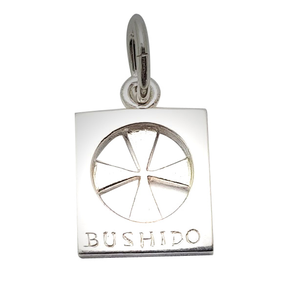 Bushido Cross Sterling Silver Large