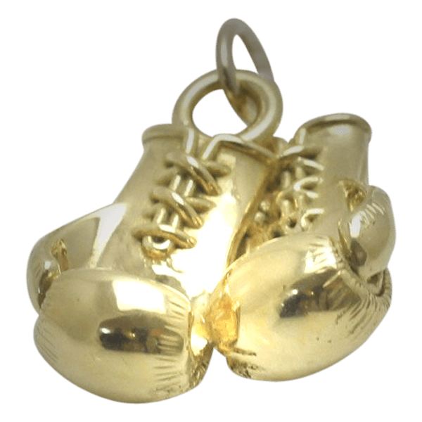 9ct Gold Boxing Glove Pair
