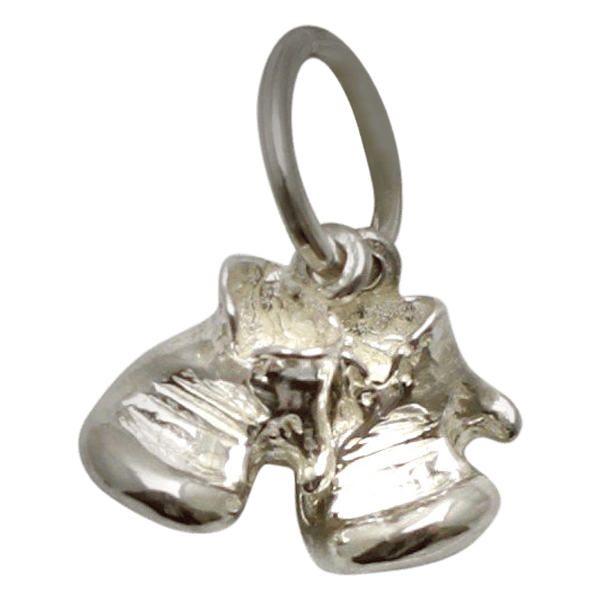 Sterling Silver Boxing Glove Pair Small Separated